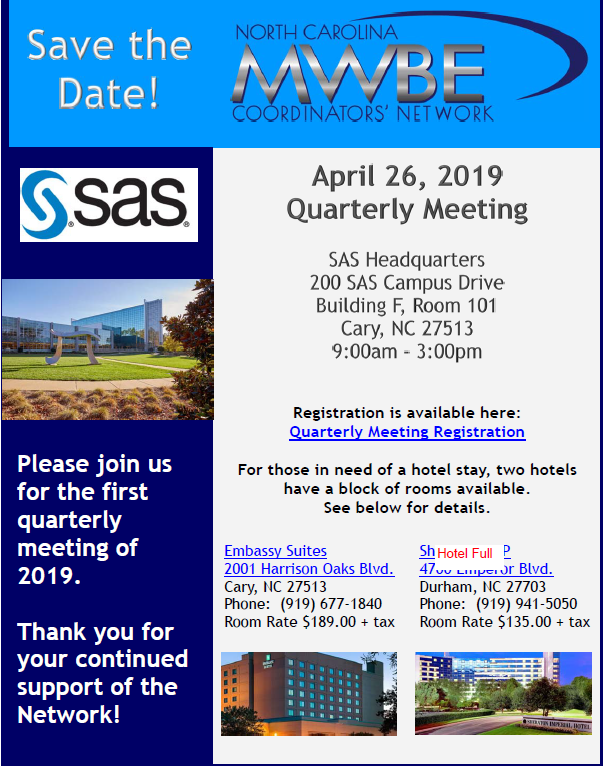 Quarterly Meeting April